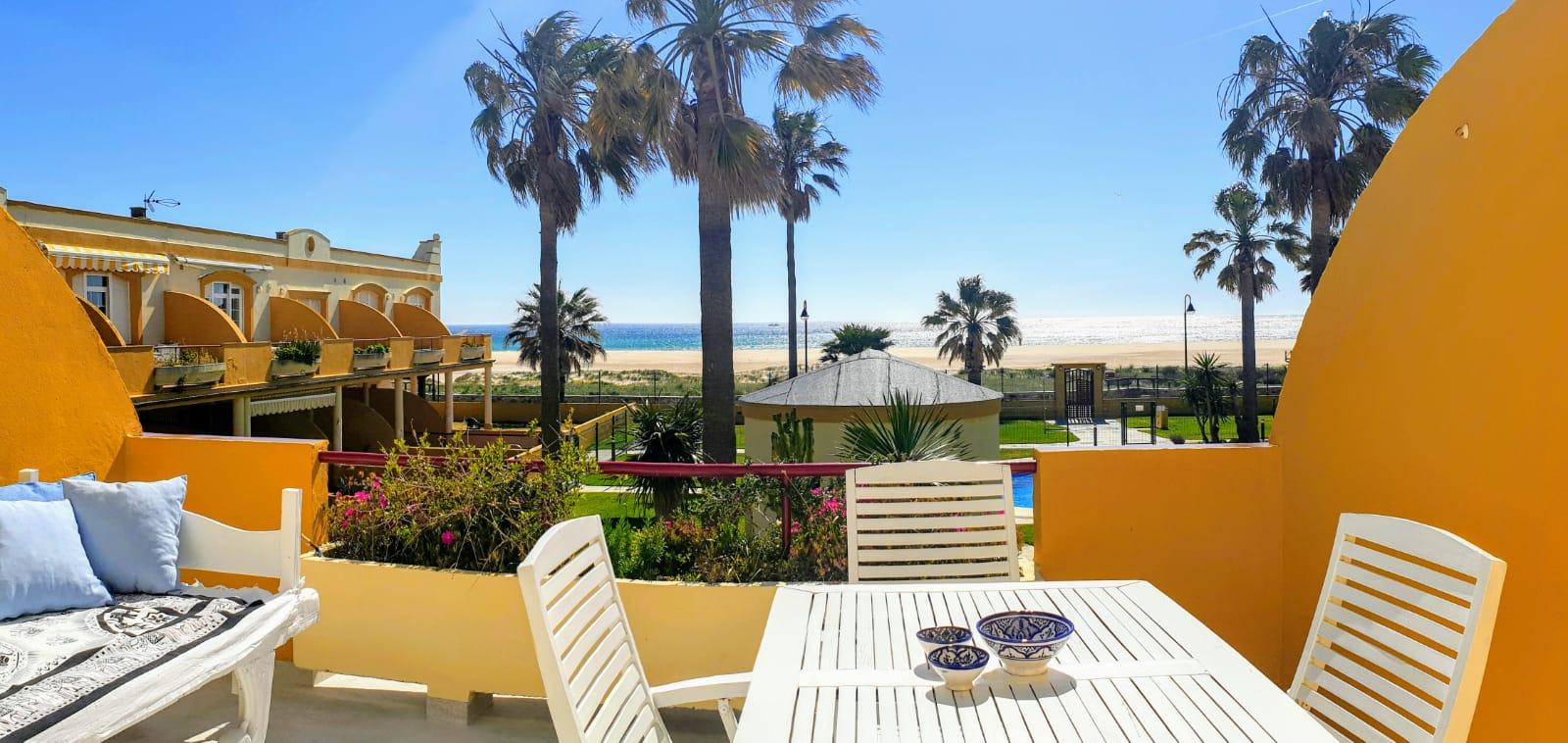 Apartamento en 1era linea de playa en Tarifa